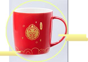 刺猬猫定制马克杯